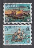 C 002 ) Guernsey Community Issues Europe CEPT 1982 **/MNH Historical Events - 1982