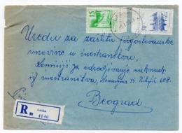 1963 YUGOSLAVIA, SLOVENIA, LASKO TO BELGRADE, REGISTERED COVER - 1945-1992 République Fédérative Populaire De Yougoslavie