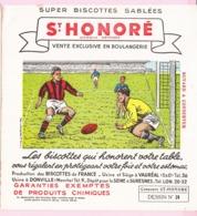 Buvard Biscottes SAINT HONORE Football 24 19 - Biscottes
