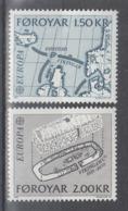 C 002 ) Føroyar / Färöer Community Issues Europe CEPT 1982 **/MNH Historical Events - 1982