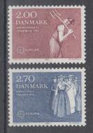 C 002 ) Dänemark  Community Issues Europe CEPT 1982 **/MNH Historical Events - 1982