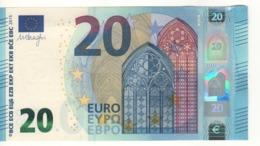 20 EURO   'Italy'    DRAGHI    S 017 I2     SE9361386595  /  FDS - UNC - EURO