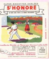 Buvard Biscottes SAINT HONORE REGION PYRENEES  19 - Biscottes