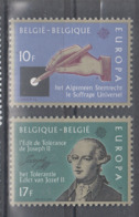 C 002 ) Belgium Community Issues Europe CEPT 1982 **/MNH Historical Events - 1982