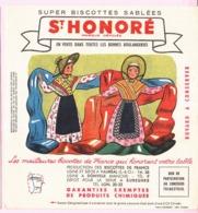 Buvard Biscottes SAINT HONORE REGION LYONNAIS  19 - Biscottes
