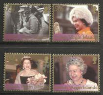 BRITISH VIRGIN ISLANDS  2002  QEII  GOLDEN JUBILEE SET MNH - Britse Maagdeneilanden