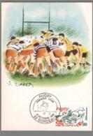 CM France - Rugby - Bordeaux - 1982 - Cartes-Maximum