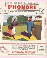 Buvard Biscottes SAINT HONORE REGION NORD  19 - Biscottes