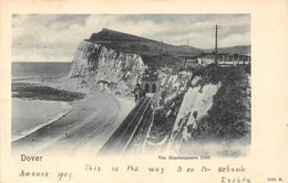 Dover The Shakespeare Cliff Train Rail Tunnel Cliff Panorama - Other