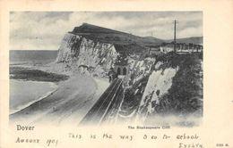Dover The Shakespeare Cliff Train Rail Tunnel Cliff Panorama - Inglaterra