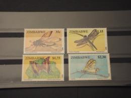 ZIMBAWE - 1995 INSETTI 4 VALORI - NUOVI(++) - Zimbabwe (1980-...)