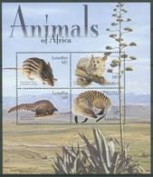 Lesotho 2004 Säugetiere Maus Schuppentier Manguste 1863/66 K Postfrisch (C27717) - Lesotho (1966-...)
