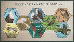 Simbabwe 2004 SAPOA Vögel Kuhreiher Seeadler Falke Block 13 Postfrisch (C27714) - Zimbabwe (1980-...)