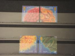 HONG KONG - 1994 FAUNA MARINA 4 VALORI - NUOVI(++) - 1941-45 Japanse Bezetting