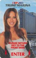 Trump Marina Casino - Atlantic City NJ - Hotel Room Key Card - Hotel Keycards