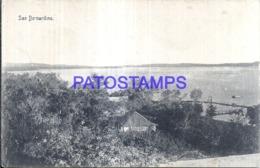 123618 PARAGUAY SAN BERNARDINO VISTA PARCIAL POSTAL POSTCARD - Paraguay