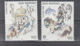 C 002 ) Free Shipping To // San Marino Community Issues Europe CEPT 1982 **/MNH Historical Events - 1982