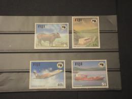 FIJI - 1984 AUSIPEX  4 VALORI - NUOVI(++) - Fiji (1970-...)