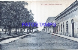 123621 PARAGUAY VILLARRICA STREET CALLE COMERCIO POSTAL POSTCARD - Paraguay