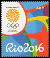 2016Georgia6802016 Olympic Games In Rio De Janeiro - Sommer 2016: Rio De Janeiro