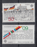 C 002 ) Germany  Community Issues Europe CEPT 1982 **/MNH Historical Events - 1982