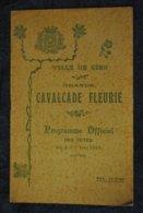 Programme Officiel Des Fetes Des 4 Et 5 Juin 1922 Ville De Gien Grande Cavalcade Fleurie - Programmes