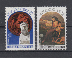 C 002 ) Greece Community Issues Europe CEPT 1982 **/MNH Historical Events - 1982
