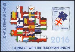 2016Georgia682/B67Link To The European Union - Europa-CEPT