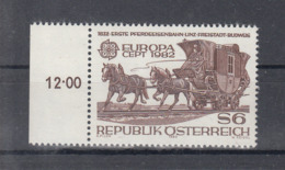 C 002 ) Austria Community Issues Europe CEPT 1982 **/MNH Historical Events - 1982