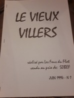 """Fascicule """"le Vieux Villers"""" - Villers-l'Evêque - Historical Documents"""
