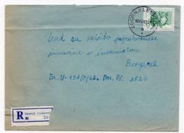 1963 YUGOSLAVIA, SLOVENIA, ZGORNJI LESKOVEC TO BELGRADE, REGISTERED COVER - 1945-1992 République Fédérative Populaire De Yougoslavie