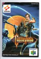 Instruction Booklet: Nintendo 64, Konami, CastleVania (19-2302) - Nintendo 64