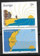 Suède 1999 2134/2135 Neufs L'aube Du Millénaire - Sweden