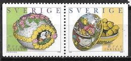 Suède 1999 2078/2079 Neufs Pâques - Suecia