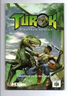 Instruction Booklet: Nintendo 64, Acclaim, Turok, Dinosaur Hunter (19-2303) - Nintendo 64