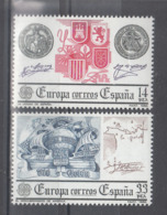 C 002 ) Spain Community Issues Europe CEPT 1982 **/MNH Historical Events - 1982