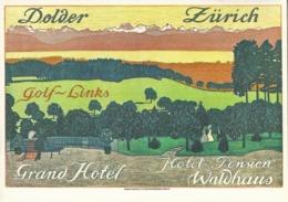 Zürich - Grand Hotel Dolder, Golf Links        Ca. 1980 - ZH Zurich