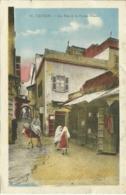 CPA - Maroc - 55. TANGER  - Une Rue De La Fuente-Nueva - Tanger
