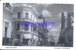 123632 PARAGUAY ASUNCION STREET CALLE PALMA POSTAL POSTCARD - Paraguay