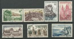 FRANCE: Obl., N° YT 1125 à 1131, Série, B. Oblit., TB - Oblitérés