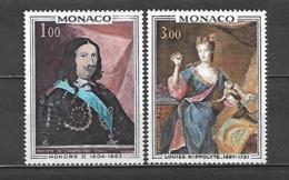 1969 - N. 797/98** (CATALOGO UNIFICATO) - Mónaco
