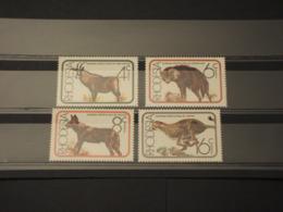 RHODESIA - 1976 FAUNA 4 VALORI - NUOVI(++) - Africa (Varia)