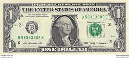 ÉTATS UNIS 1 DOLLAR 2009 P-530B NEUF NEW YORK [US530B] - Biljetten Van De  Federal Reserve (1928-...)
