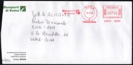 AIRCRAFT - ITALIA ROMA 1996 - METER / EMA  ADR AEROPORTI DI ROMA - Aerei