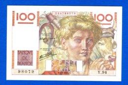 100 Fr  Du  5/9/1946 - 1871-1952 Antichi Franchi Circolanti Nel XX Secolo