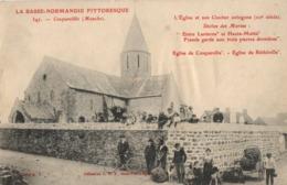 Cosqueville - L'Eglise Et Son Clocher Octogone - Autres Communes