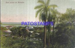 123644 PARAGUAY ASUNCION VISTA PARCIAL CIRCULATED TO ARGENTINA POSTAL POSTCARD - Paraguay