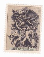 Vignette Militaire Delandre - 122ème Régiment Territorial D'infanterie - Vignette Militari