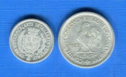 2  Jetons - Monétaires / De Nécessité