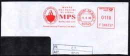 GERMANY FRANKFURT 2000 - METER / EMA  MPS MONTE DEI PASCHI DI SIENA BANK SEIT 1472 - FRAGMENT - Fabbriche E Imprese
